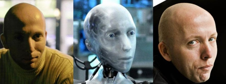 Jan Fokke Oosterhof Lookalike me-robot (Medium)